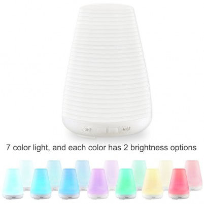 Amir® Aromatherapy Oil Diffuser Ultrasonic Mist Air Humidifier