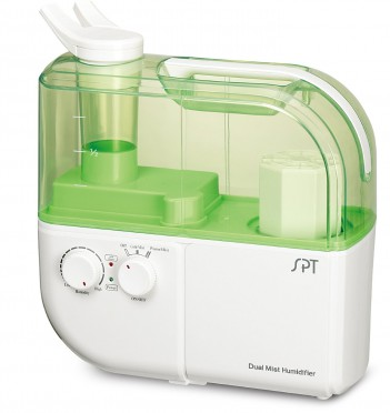SPT SU-4010G Dual Mist Humidifier with ION Exchange Filter